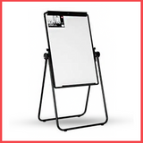 Deli Whiteboard Magnetic With Flip Chart 3×2 With Lags - E7891