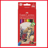 Faber-Castell Classic Color Pencil Pack of 12