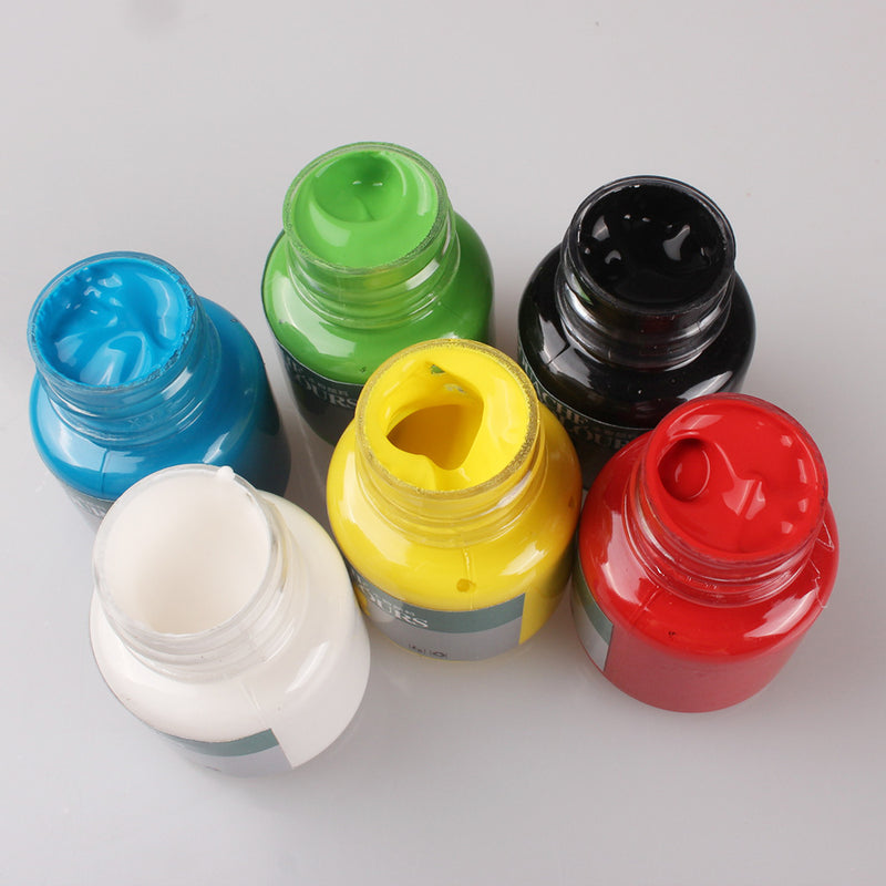 YIPINXUAN Glass Colours (6668-6A) Pack of 6