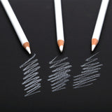 Keepsmiling White Charcoal Pencil Set Of 3