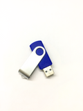 Silver And Dark Blue (16GB USB  2.0), Flash Drive, Connect With Pc.