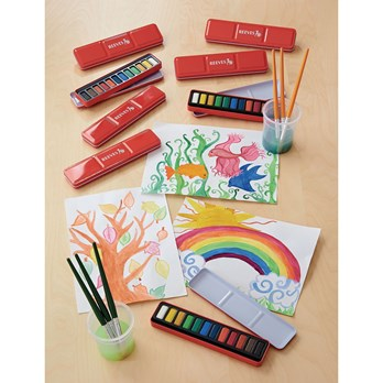 Reeves Watercolor Paints Set 12