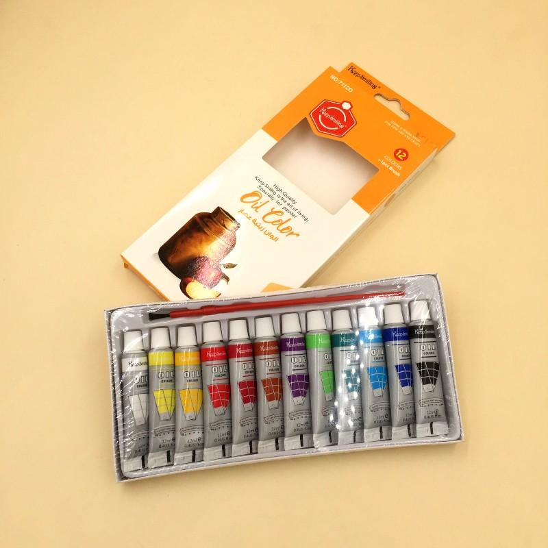 Keep Smiling Oil Color Pack 12