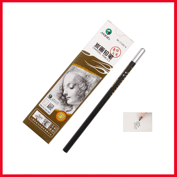 Maries Charcoal Pencil Single Piece