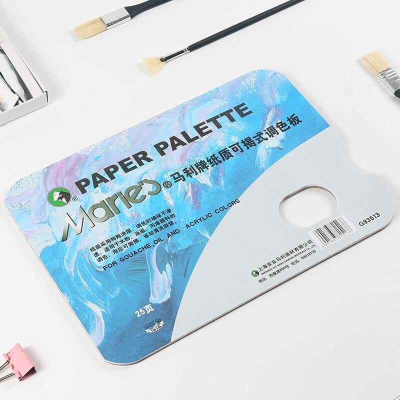 Maries Paper Paint Mixing Palette