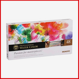 Professional artist quality watercolors 48