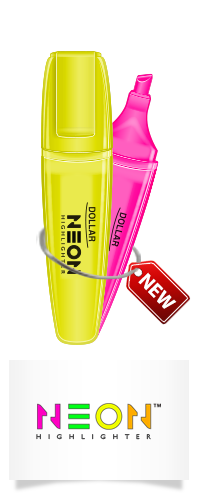 Dollar Neon Highlighter 5mm