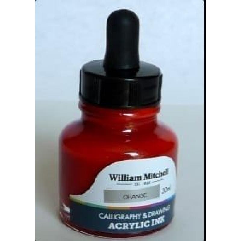 William Mitchell Calligraphy and Drawing Acrylic Ink 30ml