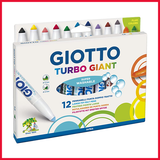 Giotto Turbo Giant Pastel Marker Set