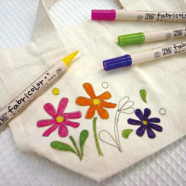 ZIG Kuretake Fabric Color Marker Set