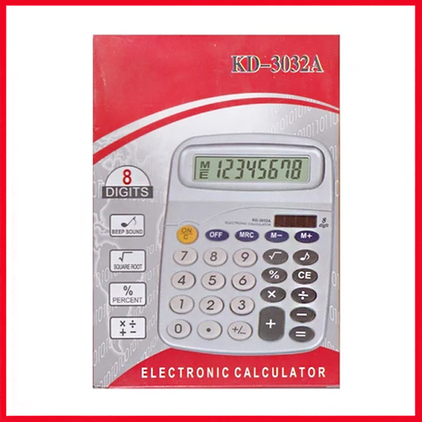 KD-3032A Electronic Calculator.
