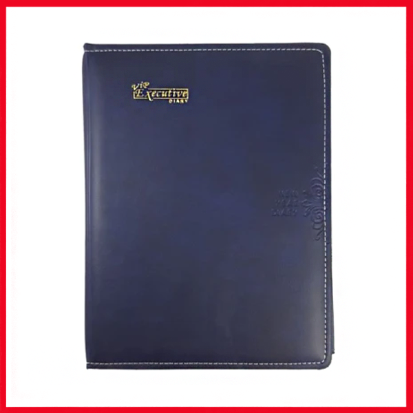 Executive Folder Diary 2020 With Phone Index Pad & Calculator 7.5x10.25 V-1/DS