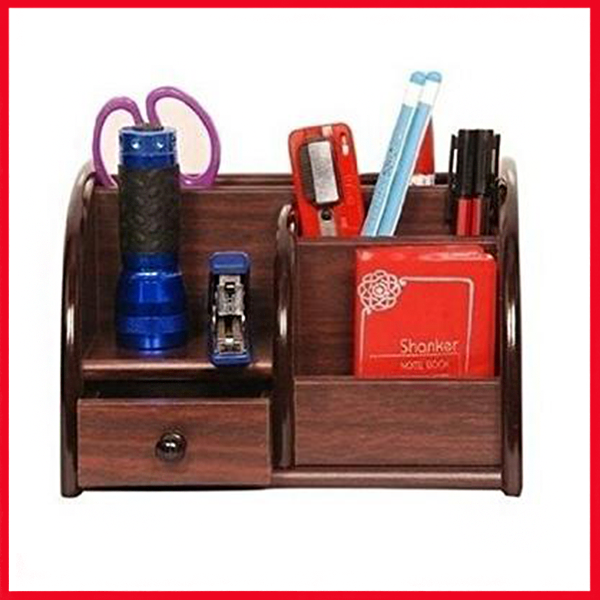 Attractive Wooden Pen stand 8001.