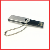 Silver And Black (8 GB USB 2.0), Flash Drive, With Connect PC.