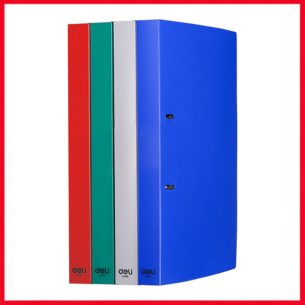 Deli E5388 3/4IN Dual Color 2D Ring Binder A4.