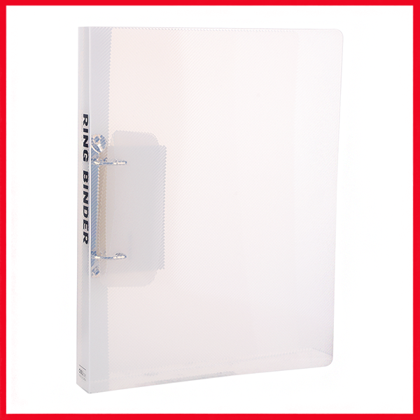 Deli E5381 3/4IN 2 D-Ring Binder A4 Translucent.