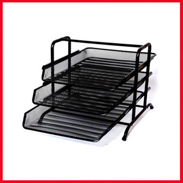3-Tier Document Tray - Black.