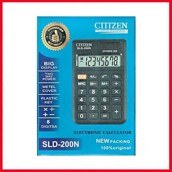Clitlizen Electronic Calculator SLD-200n