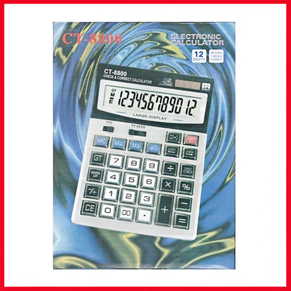 Clitlizne Check & Correct Calculator ct-8800.