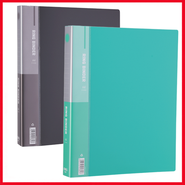 Deli E5382 1IN 2 O-Ring Binder A4.