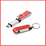 High Speed Leather And Metal Buckle Shape USB (16,GB).