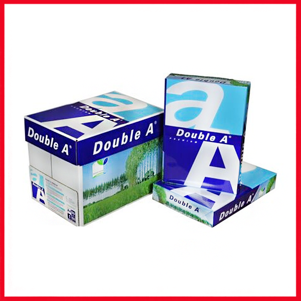 Double A (80,gm), A4 Size Box.