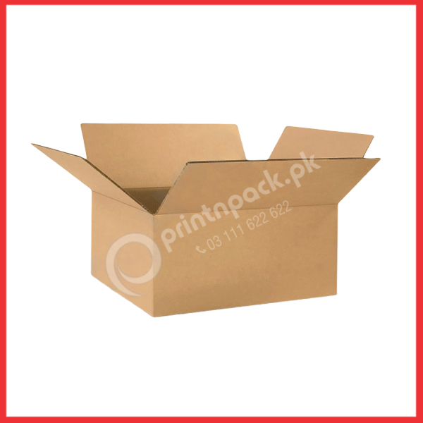 Cardboard clothing packaging box
