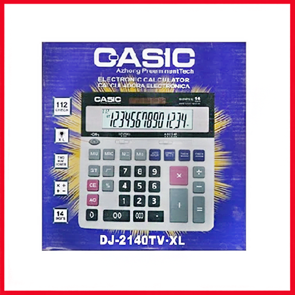 Casic Check & Correct Calculator DJ-2140tv.xl.