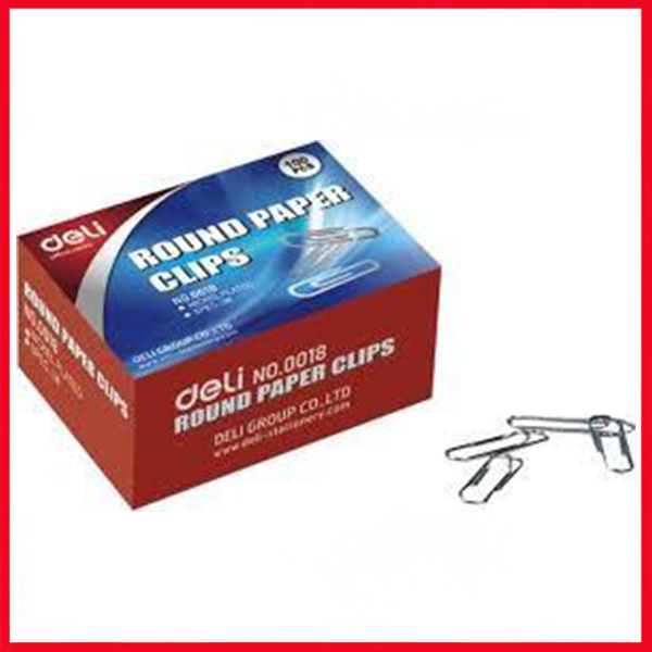 Deli Paper Clip, 29mm (Box) (E0018)