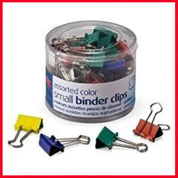 Color Binder Clip 19mm