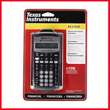 Texas Instruments Advanced Financial Calculator BAII Plus