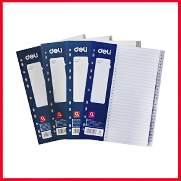 Deli E5723A 1-5 Sheets Dividers A4