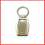 High Quality Spinning Metal Keychain