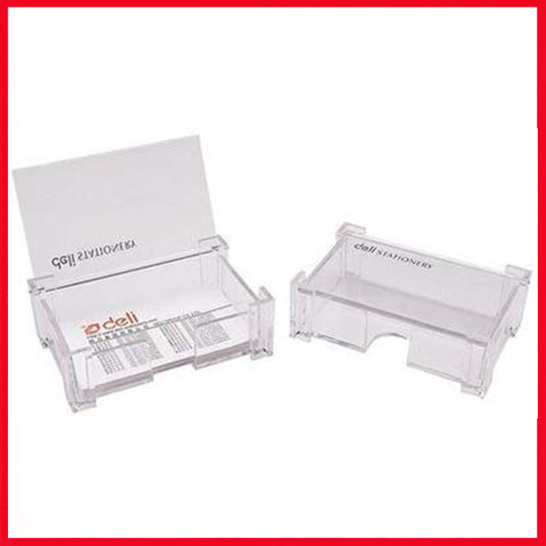 DELI Business Card Holder (With Cover) E7621