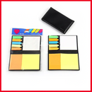 Sticky Note Set - Mix Color Sticky Note With Leather Pad