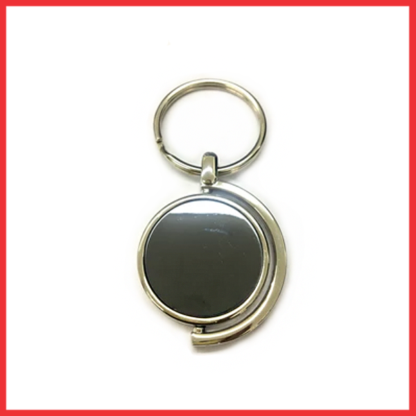 Custom Design Spinning Metal Keychain