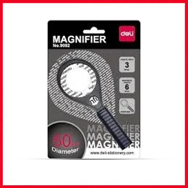 Deli Magnifier 50mm (Glass) (E9092).