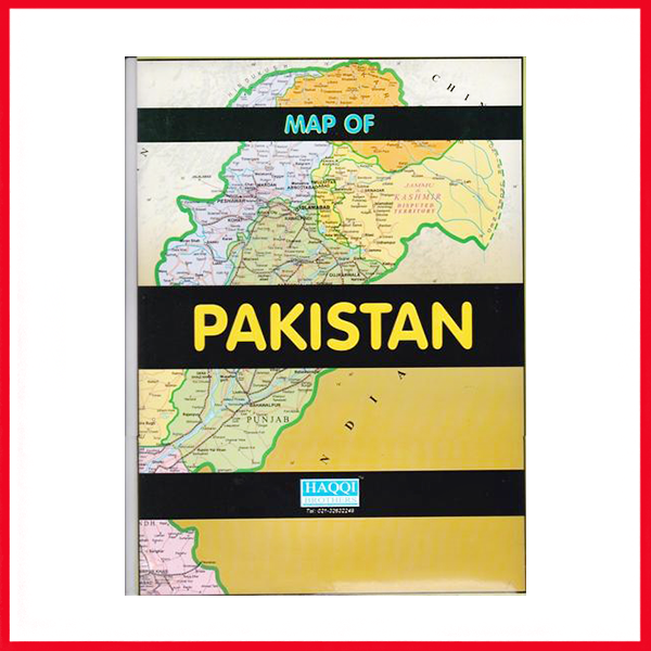 Table Map Of Pakistan.