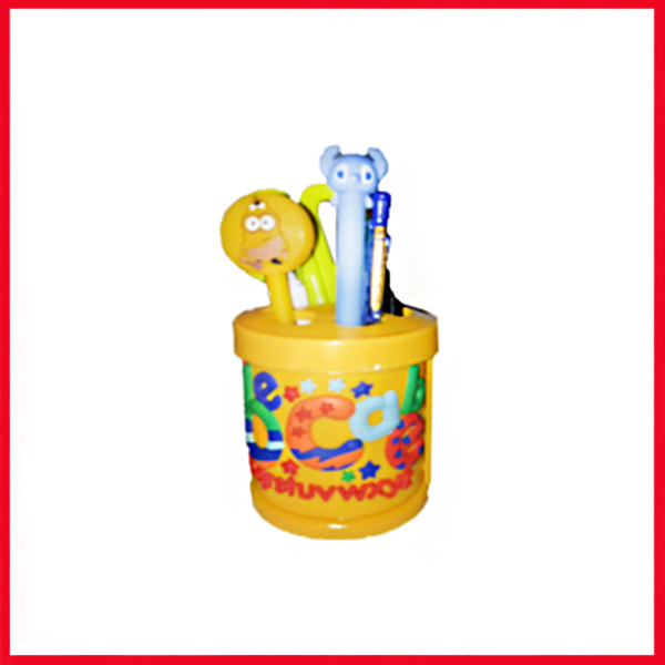 A.B.C Cartoon Pencil Holder - Pen Stand - Pen Holder.
