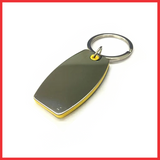 Barrel Shape Keychain With Highlights (Yellow Color)