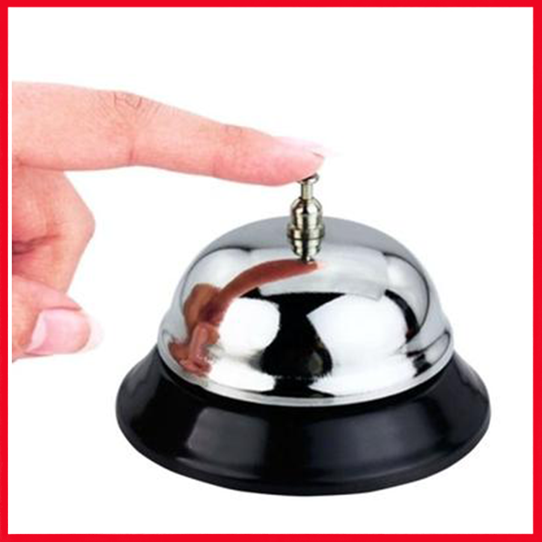 Stainless Steel Office Bell - Call Bell