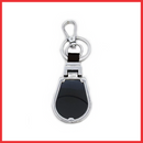 Executive Black & Silver Metal Keychain