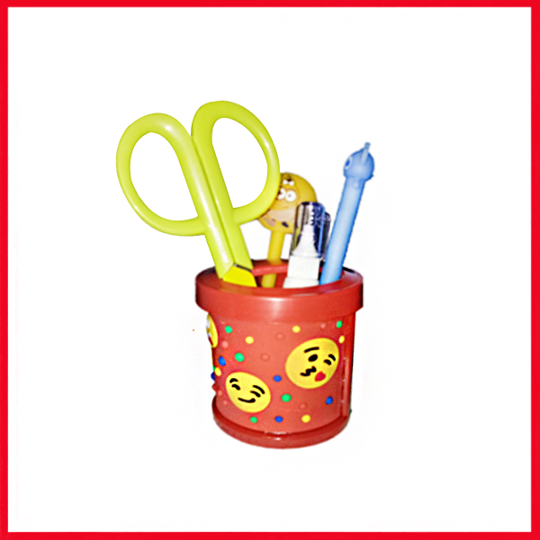 Smiley Cartoon Pencil Holder - Pen Holder - Pen Stand