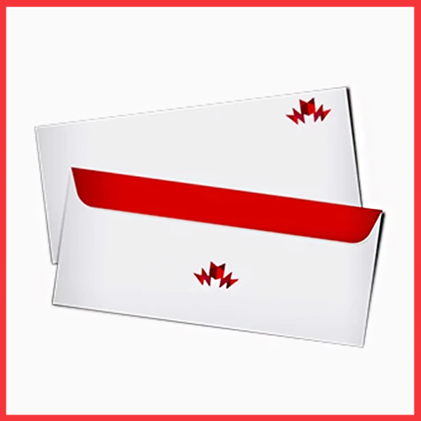 Custom envelop for business