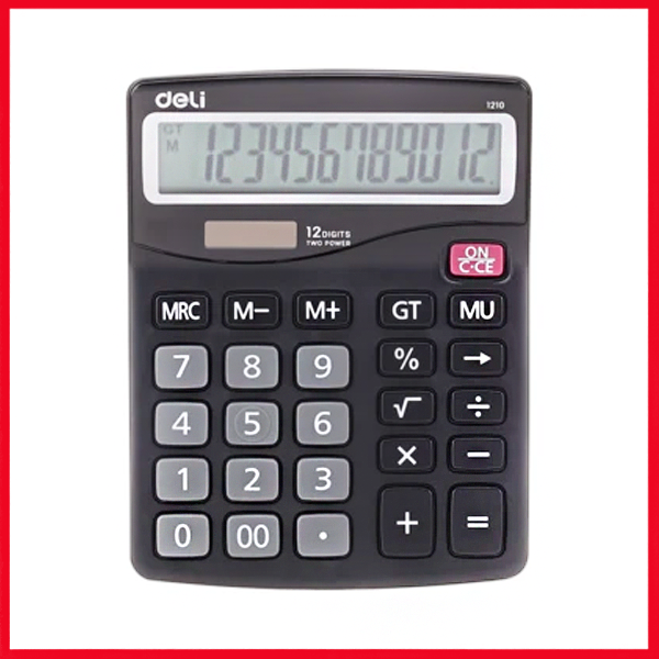 Deli E1210 Calculator 12-DIGIT