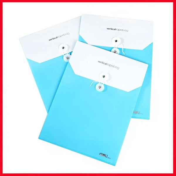 Students PVC Paper Bags Portfolio A4 Document Transparent