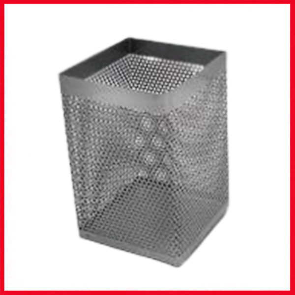 Mesh Square Pencil Stand Pen Holder.