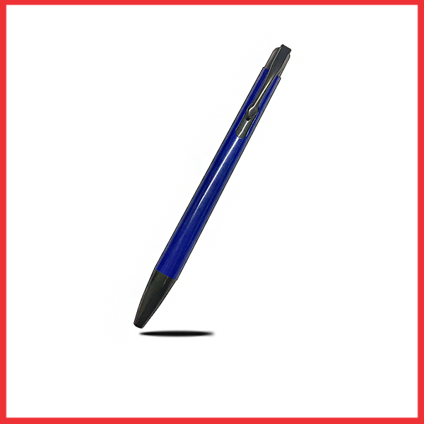 Black And Blue Plastic Executive CHARM Pen,