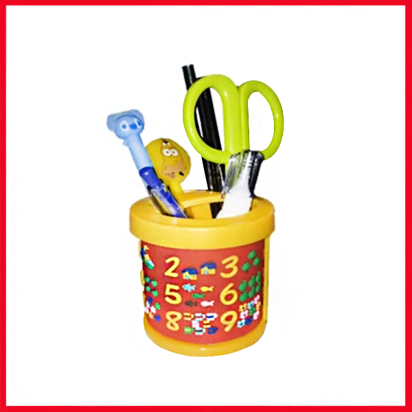 Cartoon Pencil Holder
