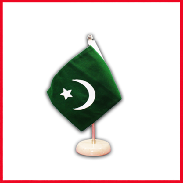 Best Table Flag Holder - Pakistan Table Flag